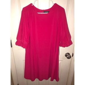 Lauren Ralph Lauren Pink Poppy Dress